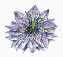 Light Mauve Flower  by Sorazal