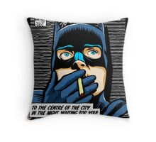 Post-Punk Heroes | Dark Throw Pillow
