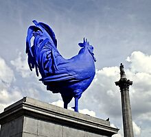 Katharina Fritsch's Hahn/Cock, London by Ludwig Wagner
