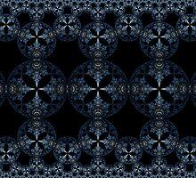 Blue Steel Tapestry by Ross Hilbert