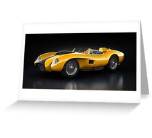 Ferrari 250 Testa Rossa - Bloom Greeting Card