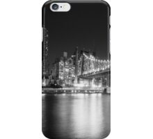 New York City - Queensboro Bridge - Night iPhone Case/Skin