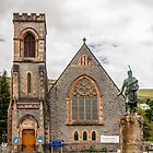 Building, Duncansburgh Macintosh parish church, Fort William, Scotland by Hugh McKean