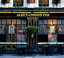 Alex's London Pub by DavidHornchurch