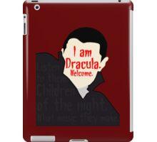 Dracula [ Iphone / Ipod / Ipad / Shirt / Print ] iPad Case/Skin