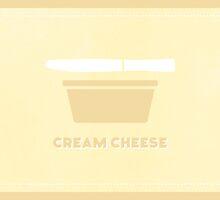 Cream Cheese (Color Palate) by janna barrett