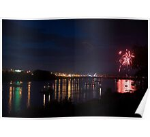Celebrating Independence Day on the Susquehanna Poster