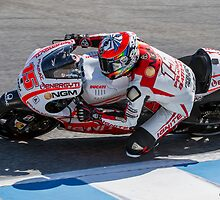 Alex De Angelis at laguna seca 2013 by corsefoto