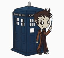 10th Doctor by FeralAntagonist