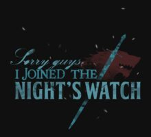 Sorry guys, I joined The Night's Watch - Dire Wolf by V Bell