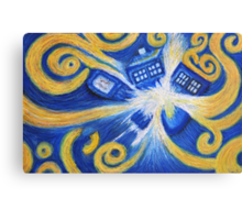 The Pandorica Opens Canvas Print
