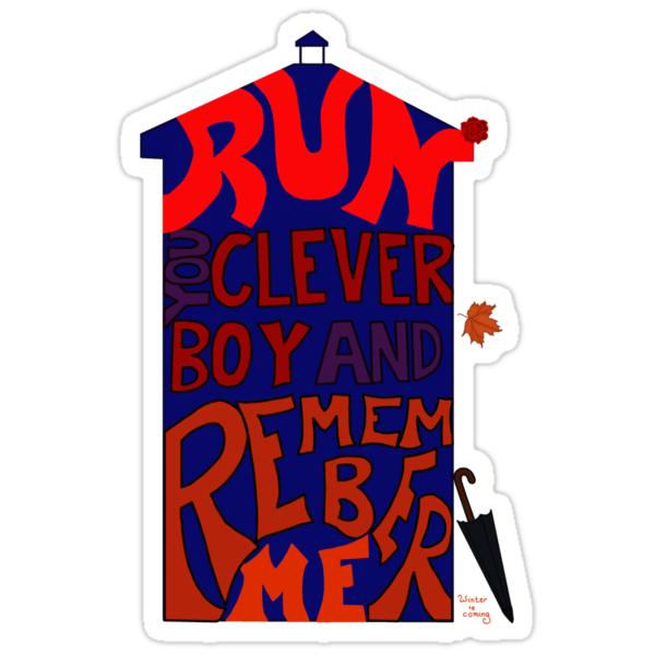 Run You Clever Boy and Remember Me - Doctor Who by annbelleproject