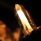 Laser Wand Quartz Crystal by aussiebushstick