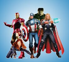Avengers by angeliana
