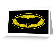 Gotham Gremlin (distressed) Greeting Card