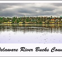 Delaware River Bucks County by GalleryThree