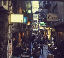 Centre Place Melbourne Lane Way  by Jetyplane