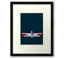 TIMELORD | No Space Edition Framed Print
