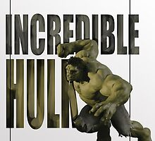 INCREDIBLE HULK by KaterinaSH