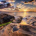 West Harris Sunset by hebrideslight