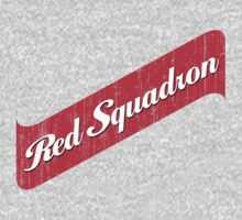 Red Squadron Beer  by gorillamask