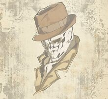 Rorschach Grunge Case by benenor90