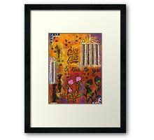 The Song of Our Belief Framed Print