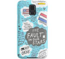 The Fault in Our Stars Collage Samsung Galaxy Case/Skin