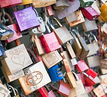 Lover's Locks by Kerry Dunstone