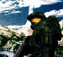 Master Chief by DarkTempestII