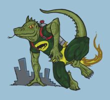 Jet Pack Lizard by ChrisDaShiz