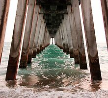 Tunnel Vision Under the Pier by StevesPhotos