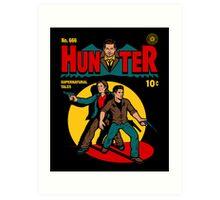 Hunter Comic Art Print