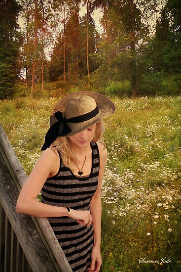 Summer Reverie ~ Alone in a Meadow by SummerJade