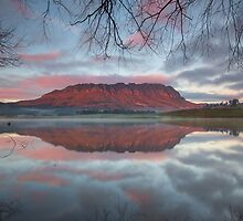 Mt Roland Reflection by Kyle  Rodgers