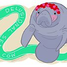 Delusional Sea Cow by nearsightedowl