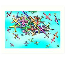 Aviation reporting point Art Print
