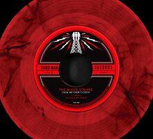 White Stripes vinyl by lizie2205