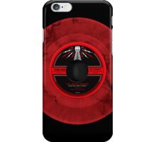 White Stripes vinyl iPhone Case/Skin
