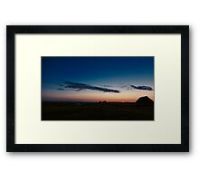 Say Good Night, From Puulaid Framed Print