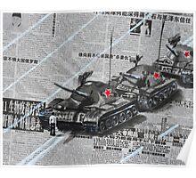 Tank Man of Tiananmen Poster