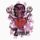 Zombie heart by tshirt-factory