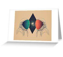 Space Between Greeting Card