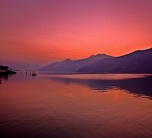Lake Como sunrise 1 by Gary Power