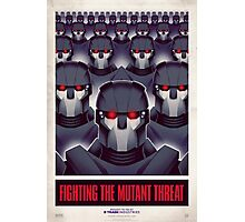 FIGHTING THE MUTANT THREAT!  Photographic Print
