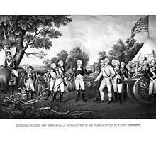 The Surrender of General Burgoyne by warishellstore