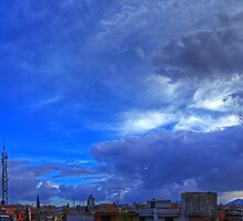 ©HCS In The Blue Cloudscape HDR by OmarHernandez