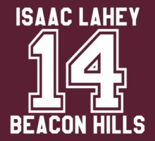 Isaac Lahey 14 shirt by heroinchains