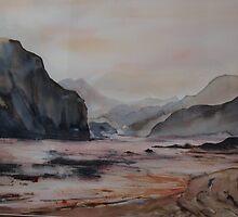 Sunset haze by IslesOfMine
