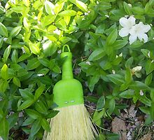 Mini Broom in Yard by Grace314